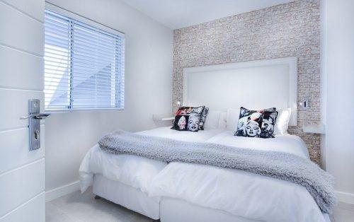 Kamar tidur minimalis untuk si kembar