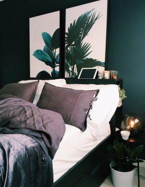 Kamar tidur dengan nuansa alam