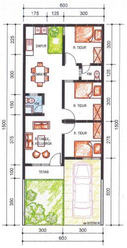 Pengembangan rumah tipe 36 alternatif 4